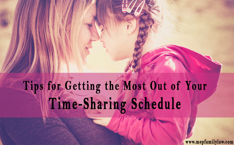 Time-Sharing Schedule