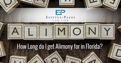 alimony in Florida