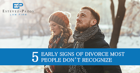 Coral Gables Divorce Signs and Symptoms